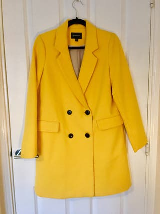 Yellow STRADIVARIUS coat