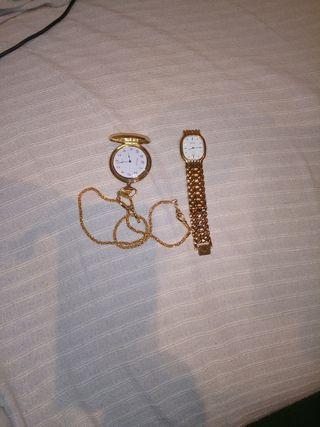 Dos relojes antiguos