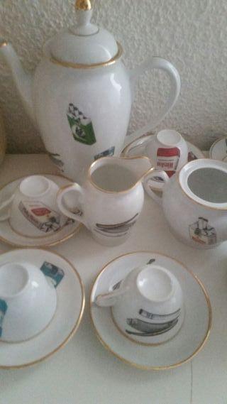juego de café vintage