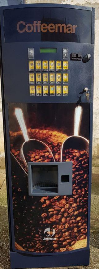 maquina vending cafe jofemar g500