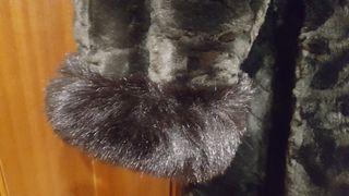 Abrigo piel sintético