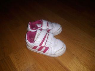 zapatillas adidas niña numero 24