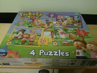 Puzzles tickety toc