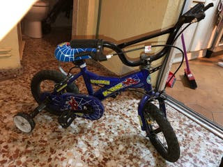 Bicicleta de niño hasta 5 años SPIDERMAN!!!