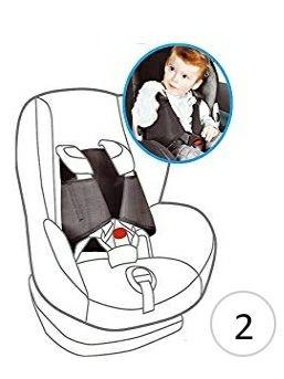 Cinturón seguridad bebe para silla coche