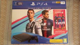 Playstation 4 Slim 1TB + FIFA 19 Champions Edition