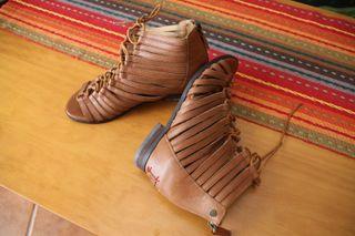 Sandalia piel Pepe Jeans