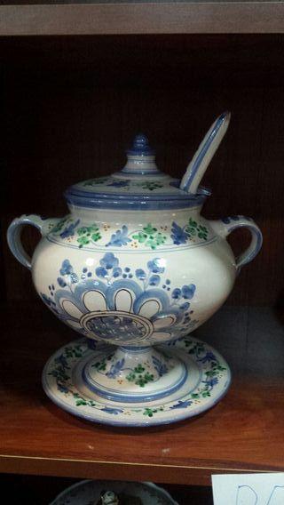 Sopera de porcelana original