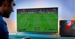 PS4 Vinilo protector Atletico de Madrid NUEVO