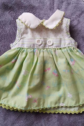 Conjunto vestido Baby born