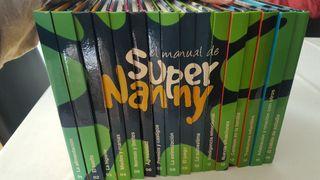 SUPERNANNY. COLECCIÓN COMPLETA 16 LIBROS Y 16 DVDS