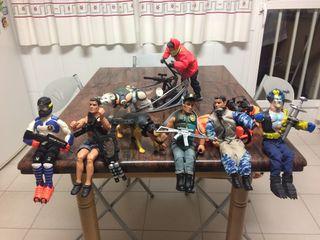 Muñecos Action Man con accesorios.