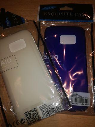 dos fundas Samsung Galaxy S6 Edge nuevas