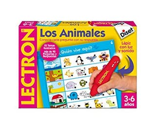 juego Lectron Lapiz Los Animales