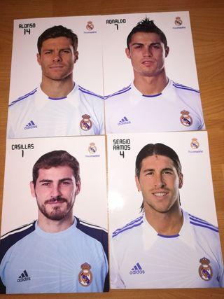 Fotos jugadores Real Madrid