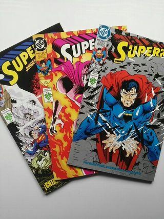 Superman varios números (Vid)