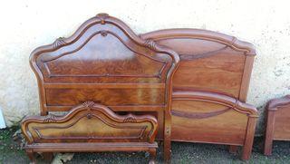 Lote de cabeceros camas de madera buen estado