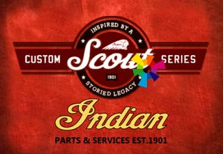 Cartel Indian Scout (exclusivo)