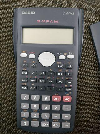 casio calculator in a case