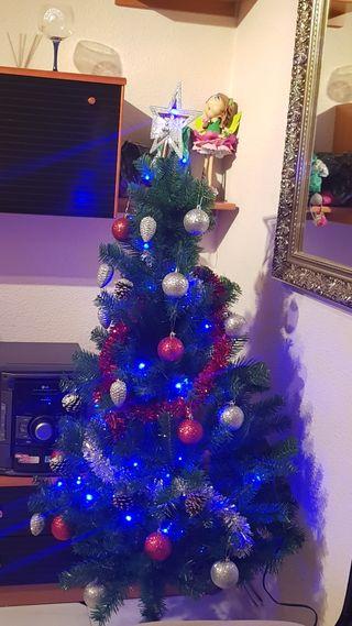 NUEVO arbol d navidad sin adornos