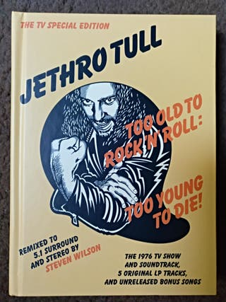 Cd Jethro Tull - too old to rock n roll