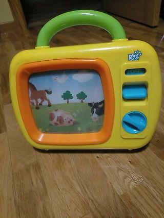 """juguete """"televisión"""" para bebé"""