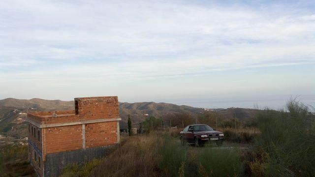 Casa de campo con vistas al mar (Benagalbón, Málaga)