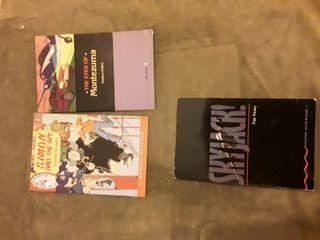 3 libros de lectura en ingles