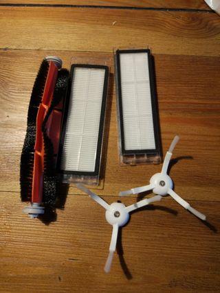 repuestos accesorios aspirador xiaomi vacuum