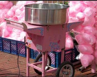 Maquinas de palomitas y algodon azucar