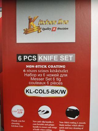 Set de cuchillos nuevos