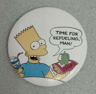 Bart Simpson chapa