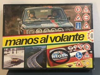 Juego de mesa manos al volante educa 1977 completo