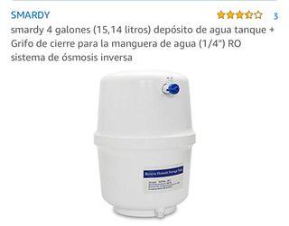 Deposito de osmosis 4 galones