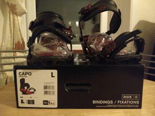 Bindings Snowboard Capo (Ride) New
