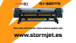 Plotter de impresion de 3,2m Stormjet SJ320TS