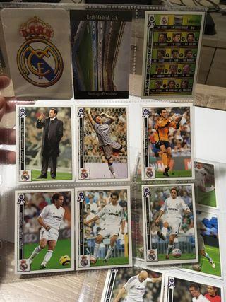 Cromos Real Madrid 2006