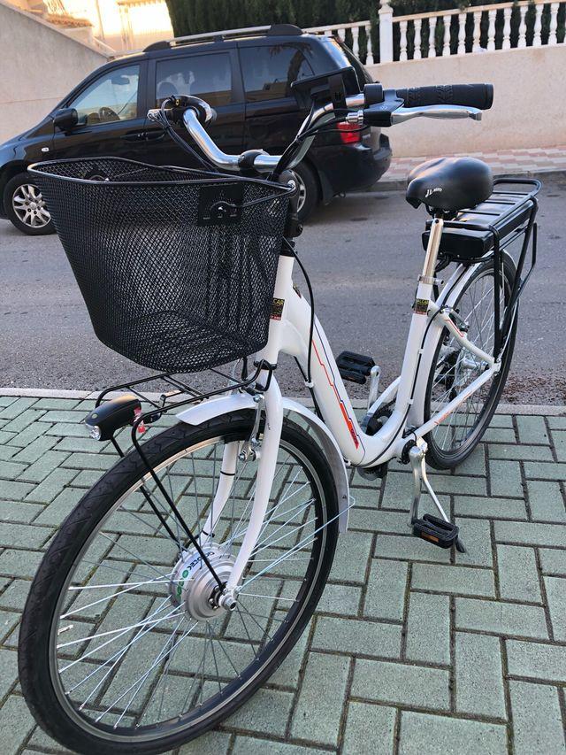 Bicicleta Eléctrica Nueva.