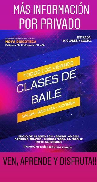 CLASES DE BAILE!