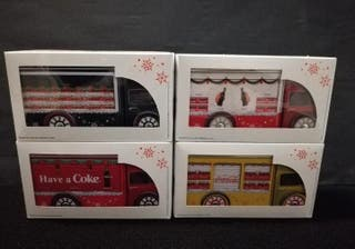Colección completa coca-cola caja camiones