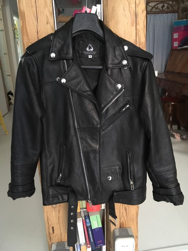 nuevos especiales en línea aquí nuevo autentico Chaqueta biker de cuero / chupa piel de segunda mano por 150 € en ...