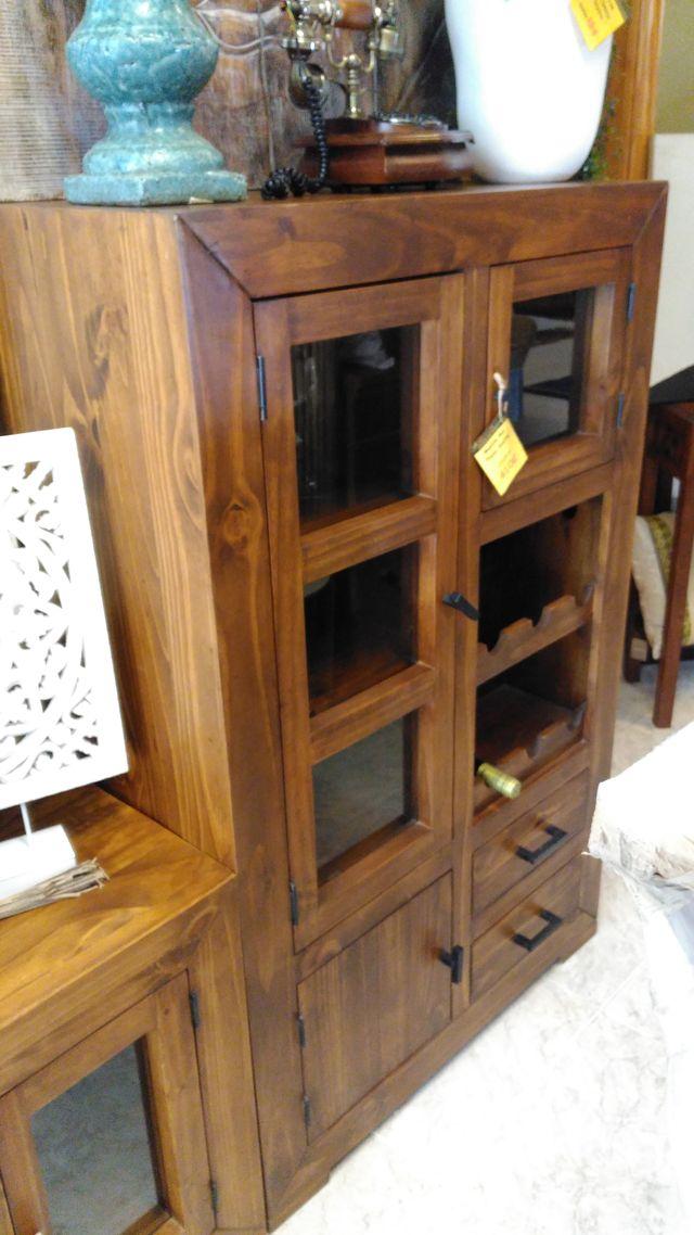 Mueble bar rustico de segunda mano por 485 en benet sser en wallapop - Mueble bar rustico ...
