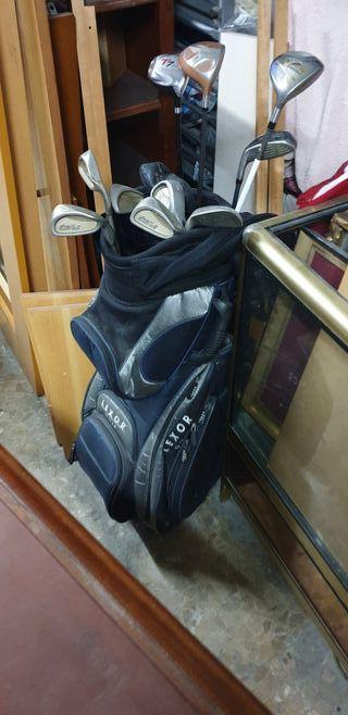 bolsa de golf con palos señora