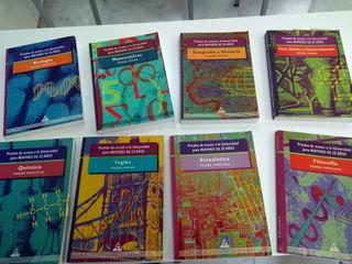 libros manuales acceso a la universidad 25 años