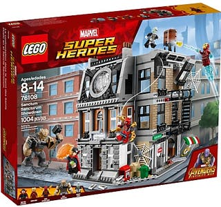 Lego MARVEL - Sanctum Sanctorum Showdown
