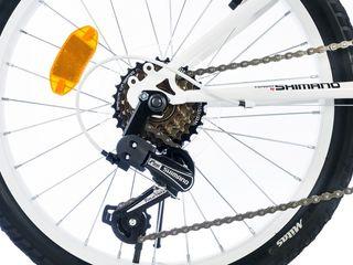 """Bicicleta infantil ruedas 20"""" cambio Shimano 6V"""