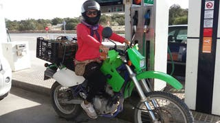 Kawasaki klx 650cc