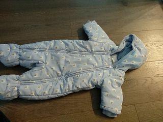 Buzo bebe Benetton talla 1-3 meses