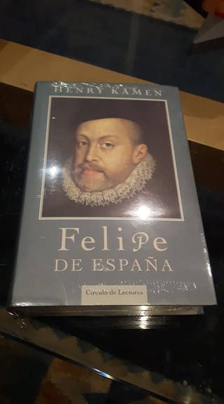 LIBRO FELIPE DE ESPAÑA. SIN ESTRENAR CON PLASTICO