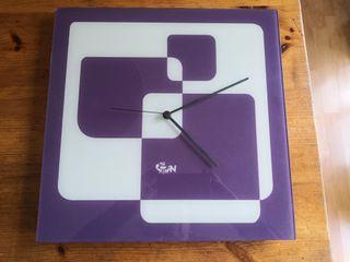 Reloj de pared de diseño The Catman